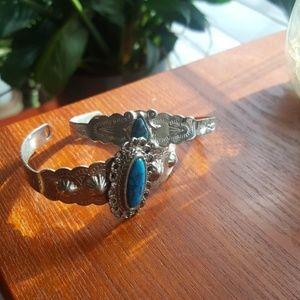 Vintage turquoise gemstone bracelets